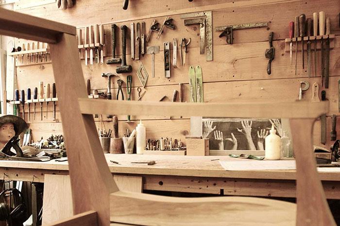 chaise atelier bois