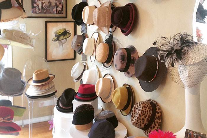 chapeaux display