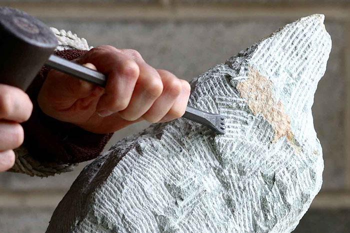 sculpture au marteau